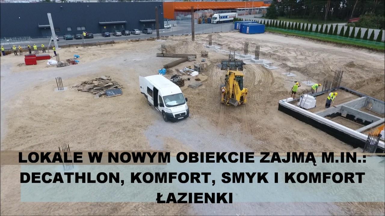 Budowa Parku Handlowego W Ostrołęce