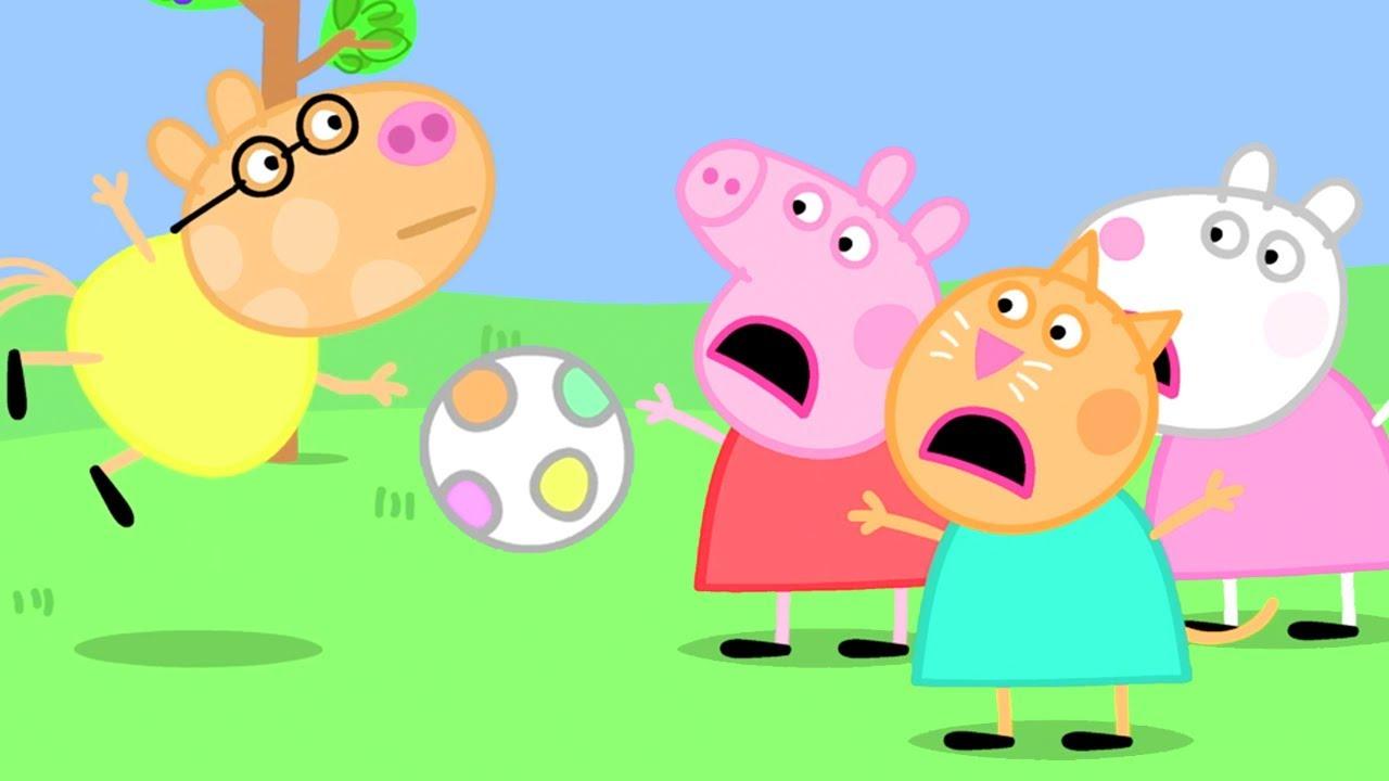 Peppa Pig Français Le Football ⚽️   1 Heure   Dessin Animé Pour Enfant
