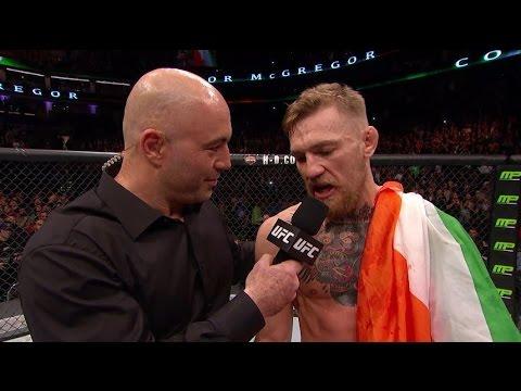 Fight Night Boston: Conor McGregor and Jose Aldo Octagon Interviews