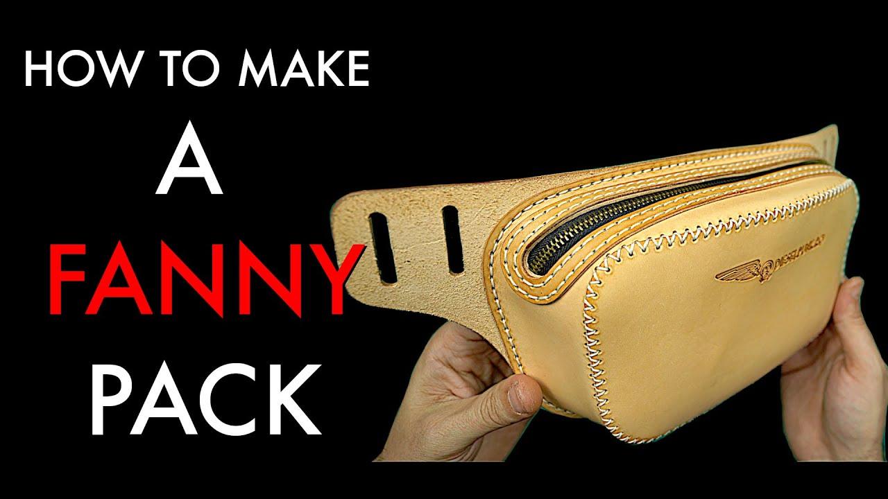 PDF how to make leather belt bag PATTERN