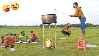 Amazing nonstop funny comedy video Best New entertainment comedy video 2021/ Bindas comedy