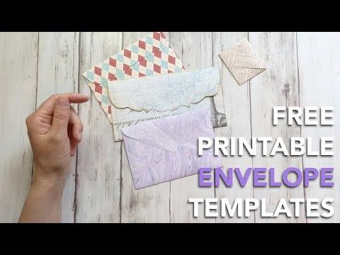 Free Envelope Templates | FREEBIE