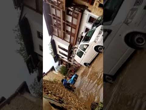 Inundación Santillana del Mar