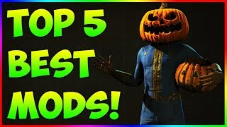 Fallout 4 - TOP 5 BEST MODS! Halloween Edition! Ep. 23 (PS4, XBOX One, PC)