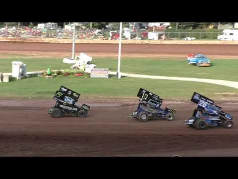 Plymouth Dirt Track 360 Sprint Heats 8-10-2019