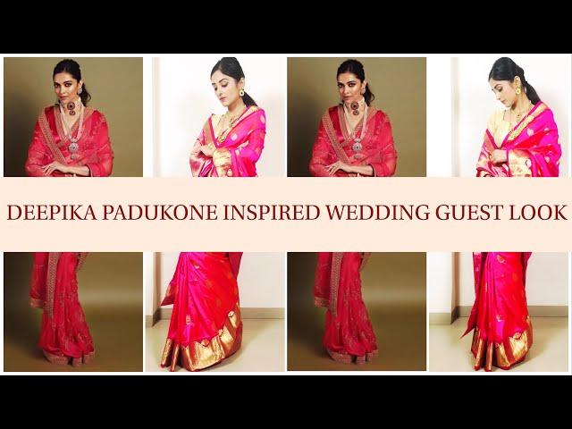 Deepika Padukone inspired wedding guest look | Prity Singh