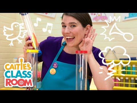Caitie's Classroom Live - Listen! Listen! What's that sound!?
