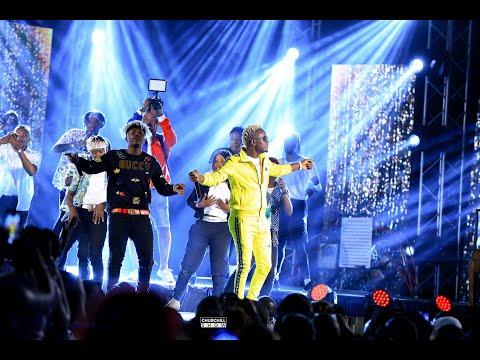 Rayvanny Performs Live At Churchill Show Syokimau!