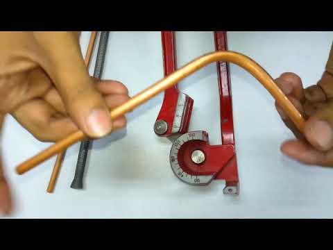 RAC Class No-20 How to Copper Tube Banding. সব চেয়ে ভালো পদ্বতীতে কপার টিউব বেন্ড করুন ।