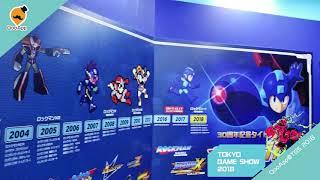 Capcom's Rockman 30th Anniversary Museum at Tokyo Game Show 2018