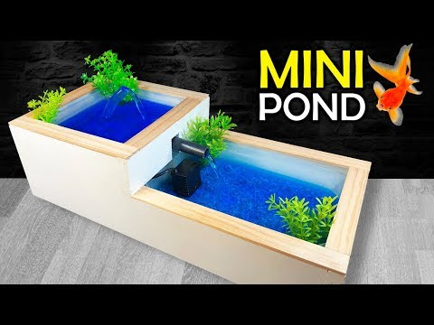 how-to-make-a-mini-pond-or-water-fountain-at-home