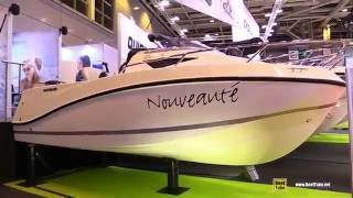 2016 Quicksilver Activ 505 Cabin Motor Boat - Walkaround - 2015 Salon Nautique de Paris