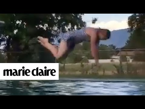 Pool Party Fails | Marie Claire