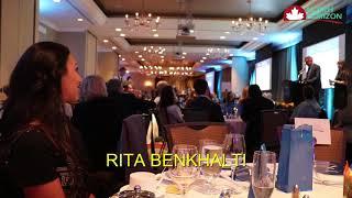 Remise du prix Femme Entrepreneure de l'Année à Rita Benkhalti