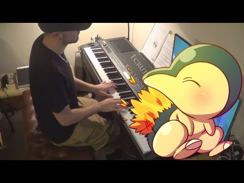 Pokemon Gold/Silver - Ecruteak City for Piano Solo!