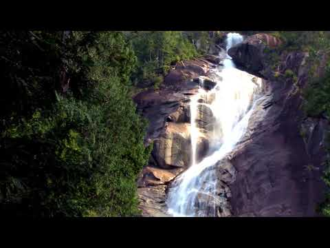 3 HOURS Relaxing Waterfall Sounds for Sleep | Fall Asleep & Stay Sleeping with Water White Noise