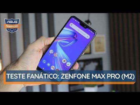Conheça O ZenFone Max Pro (M2) | #TesteFanático