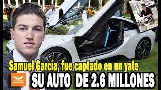 Samuel Garcia y su BMW i8 DE 2.6 MILLONES DE PESOS