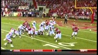 #10 Arkansas vs. #15 Auburn 2011