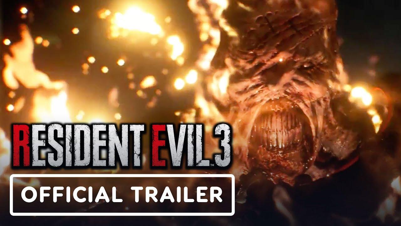 Resident Evil 3 Remake - Official Nemesis