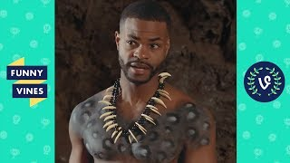 TRY NOT TO LAUGH CHALLENGE - Ultimate King Bach Funny Skits Compilation  Funny Vines 2018