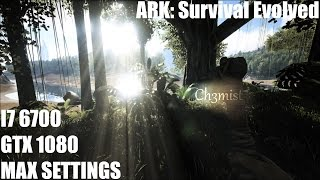 ARK: Survival Evolved Max Settings Performance @2560x1080 | GTX 1080 FE @2GHz | i7 6700 @3.8GHz