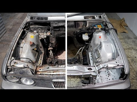 Getting The Engine Bay Ready - BMW E30 Touring Engine Bay Clean Up | Ep 1