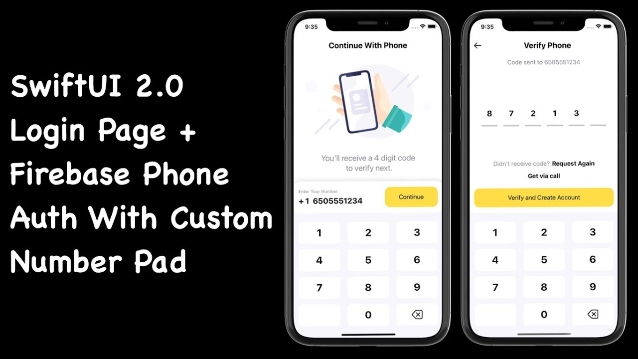 SwiftUI 2.0 Login Page With Firebase Phone Auth - Part 1: Designing