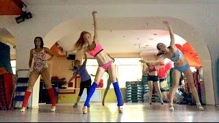 Стрип Пластика - Разминка,  Вероника Николаева, Bang Bang (3LAU Extended Mix) - Jessie J