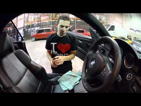Leather Care- How to clean and condition BMW Leather Chemical Guys Leather Care