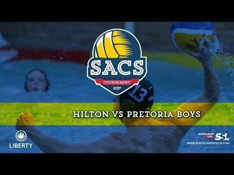 Hilton College vs Pretoria Boys: SACS Waterpolo Tournament, Saturday 30th September 2017, Day 1