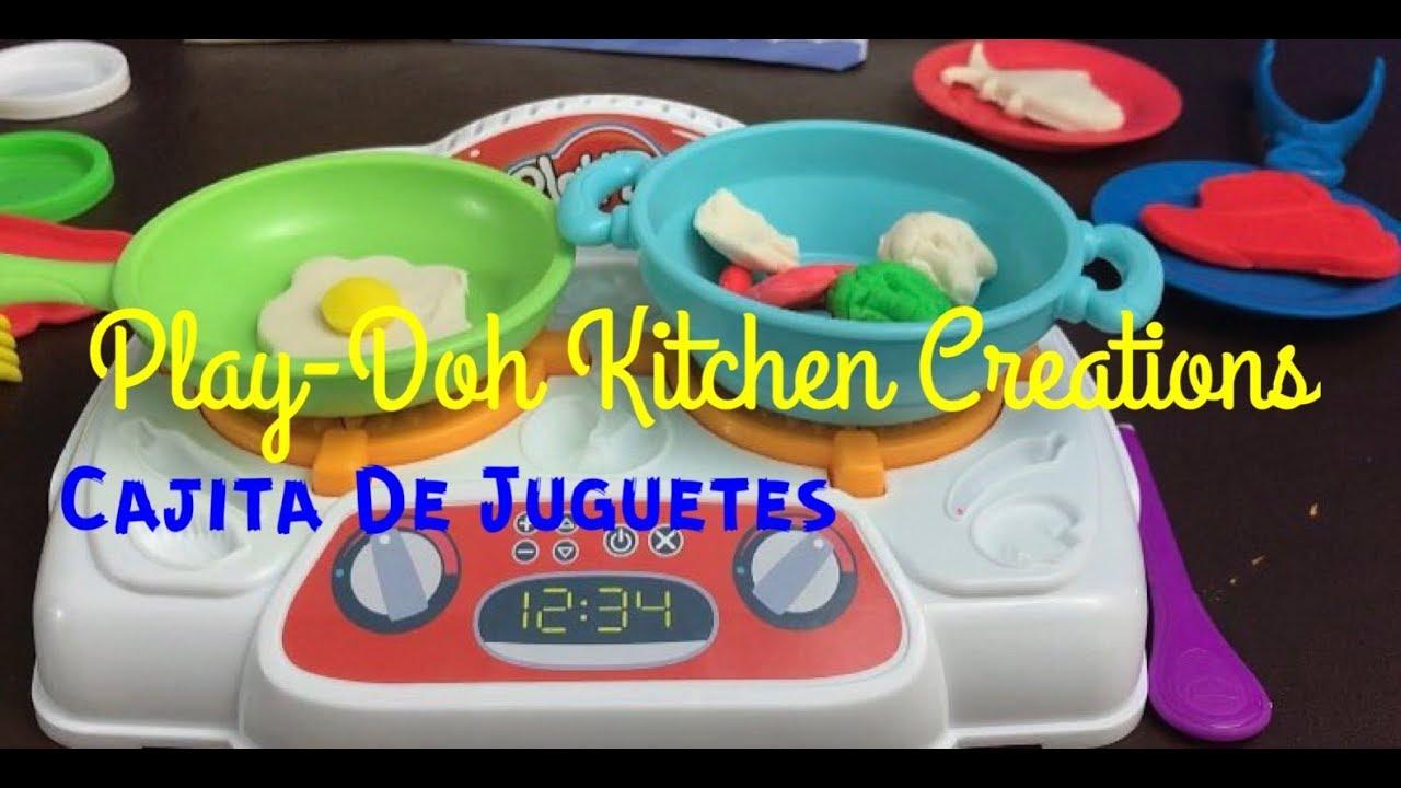 Play doh kitchen creations jueguito de cocina con - Cocina play doh ...