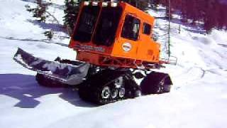 Tucker Sno-Cat - Climbing Mt. Ashland