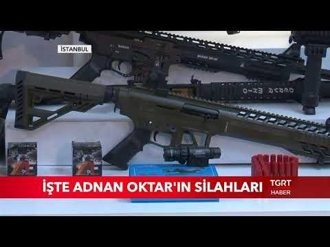 İşte Adnan Oktar'ın Silahları