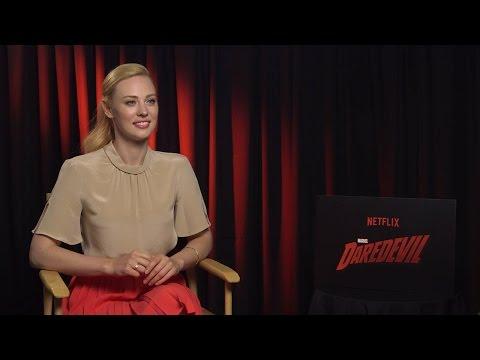 Deborah Ann Woll - Marvels' Daredevil (Netflix) Interview HD