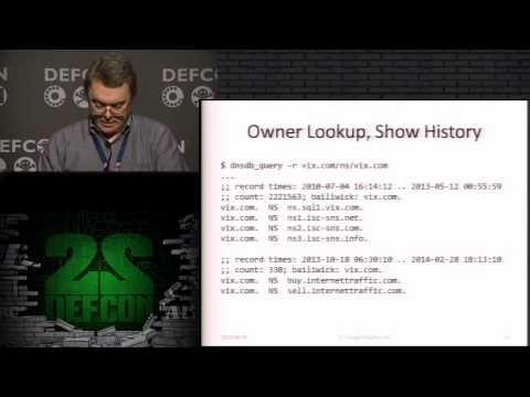 DEF CON 22 - Domain Name Problems and Solutions
