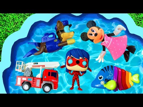 Colors and Characters - For Toddlers, Ladybug, Paw Patrol, Pj Masks, Super Heroes