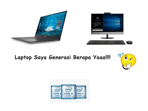 Cara Cek Generasi Laptop | CBY Channel.