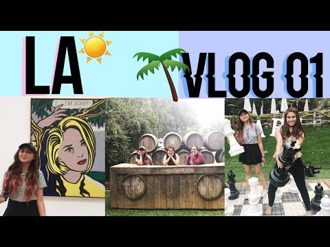 LA, Malibu and Santa Monica Pier in one day!  (Vlog_01)