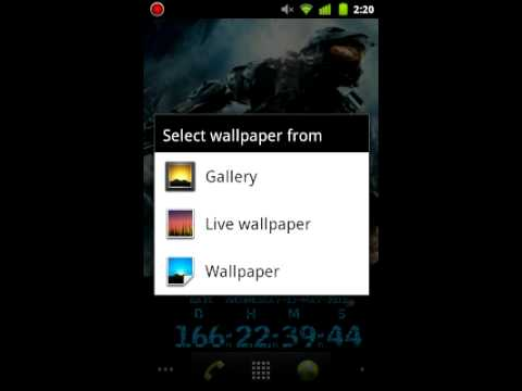 Android Halo 4 Live Wallpaper