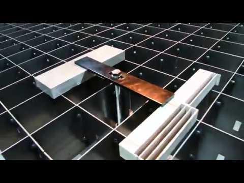 WARDJet's Job Shop Grates™ & Clamping System