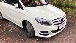 Esittelyssä Mercedes B Electric Drive täyssähköauto