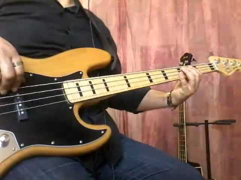 The Avener, Phoebe Killdeer - Fade Out Lines - (Bass Cover + tabs) by Antonello Essenza