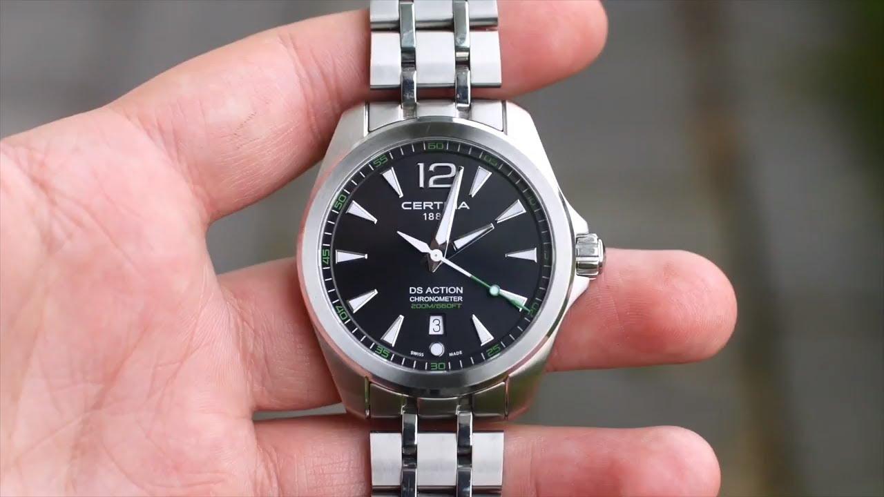 Chronometer Review Ds Action Ds Action Certina Certina QrdCBtxsho