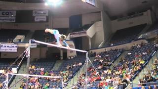 Syndey Johnson-Scharpf - Uneven Bars - 2013 P&G Championships - Jr. Women - Day 1