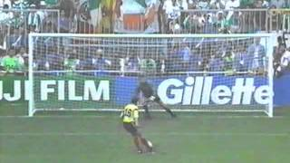 Republic of Ireland vs. Romania World Cup 1990