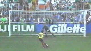 Republic of Ireland vs. Romania World Cup 1990