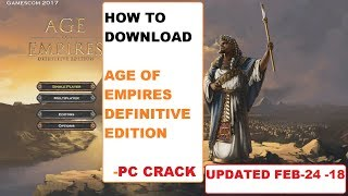 How to Download Age of Empires Definitive Edition | PC CRACK