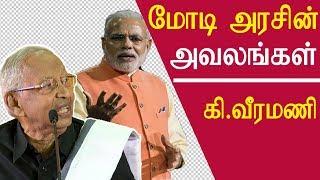 tamil news Ki veeramani speech on periyar and modi government tamil news live redpix