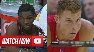 2014.03.17 - Kenneth Faried vs Blake Griffin Battle Highlights - Nuggets vs Clippers